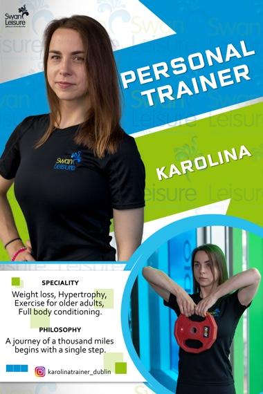 Karolina - Swan Leisure Personal Trainer