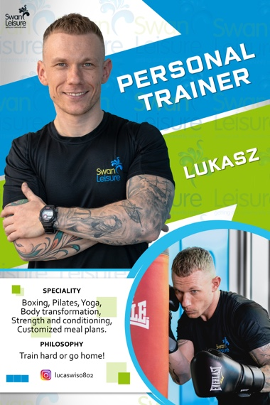Lukasz - Swan Leisure Personal Trainer